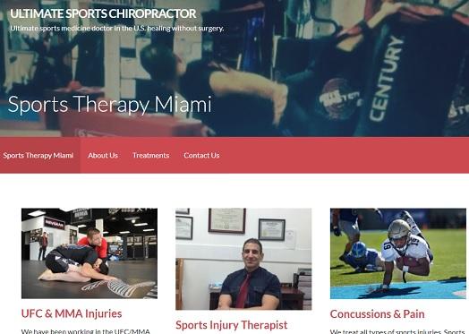 Ultimate Sports Chiropractor Miami